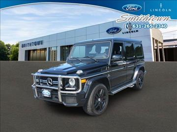 2013 Mercedes-Benz G-Class for sale in Saint James, NY