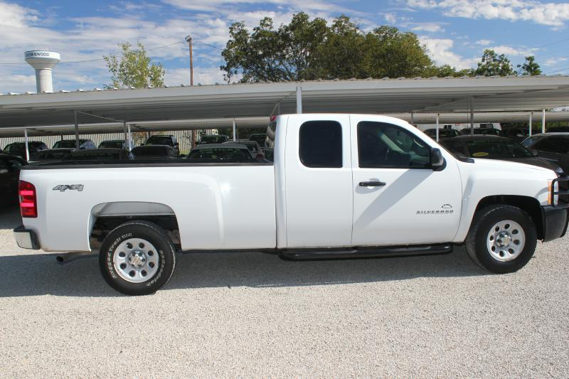 2011 chevrolet silverado 1500 4x4 work truck 4dr extended. Black Bedroom Furniture Sets. Home Design Ideas