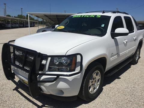 2012 Chevrolet Avalanche for sale in Brownwood, TX