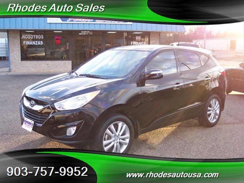 2013 Hyundai Tucson Limited 4dr SUV   Longview TX