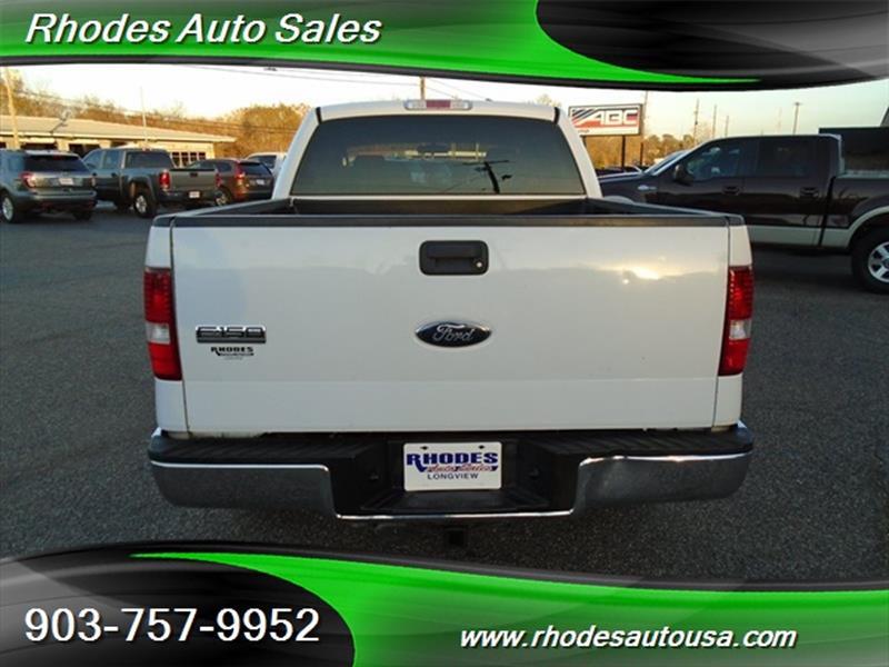 2008 Ford F 150 Xlt In Longview Tx Rhodes Auto Sales
