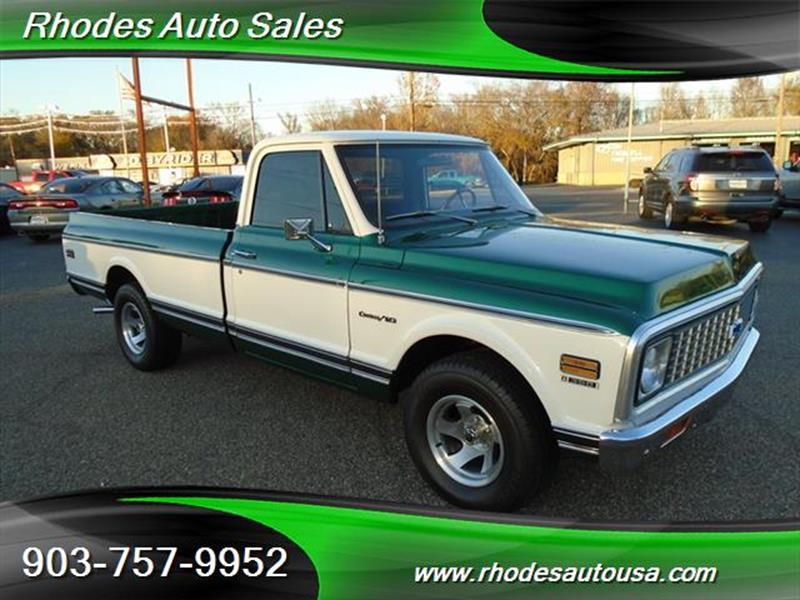 Rhodes Auto Sales: Chevrolet C/K 10 Series For Sale