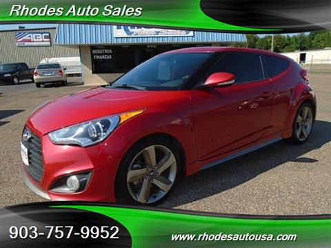 Exceptional 2013 Hyundai Veloster Turbo For Sale In Longview, TX