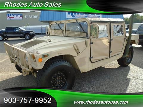 1991 AM General Hummer for sale in Longview, TX