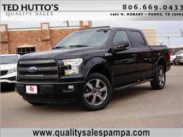 2016 Ford F-150 for sale in Pampa, TX