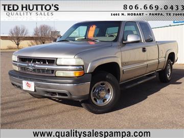 1999 Chevrolet Silverado 2500 for sale in Pampa, TX