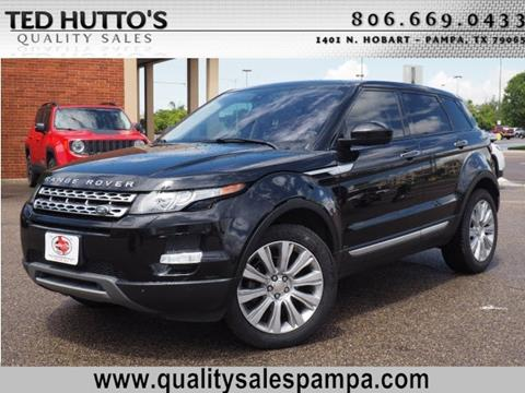 2014 Land Rover Range Rover Evoque for sale in Pampa TX