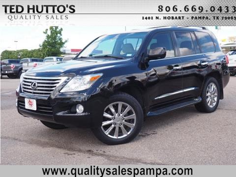 2010 Lexus LX 570 for sale in Pampa TX