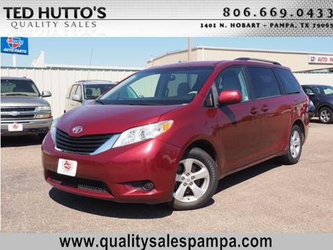 2011 Toyota Sienna for sale in Pampa, TX