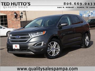2015 Ford Edge for sale in Pampa TX