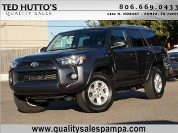 2016 Toyota 4Runner for sale in Pampa, TX