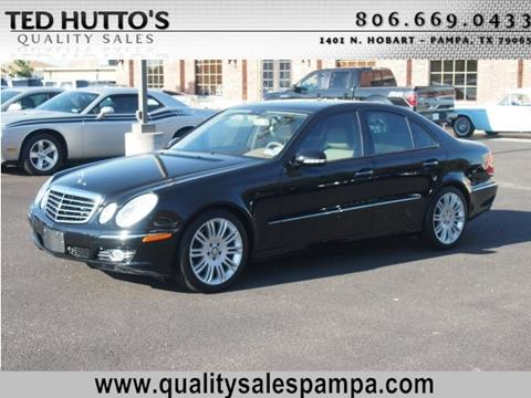 2008 Mercedes-Benz E-Class for sale in Pampa, TX