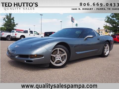 2003 Chevrolet Corvette for sale in Pampa TX