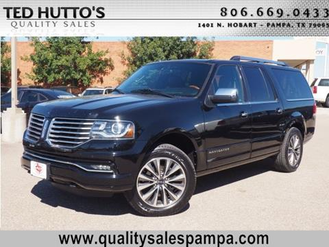 2016 Lincoln Navigator L for sale in Pampa, TX
