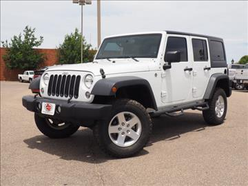 2014 Jeep Wrangler Unlimited for sale in Pampa TX