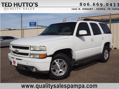 2003 Chevrolet Tahoe for sale in Pampa, TX