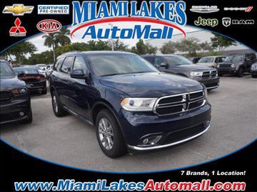 2017 Dodge Durango for sale in Miami, FL