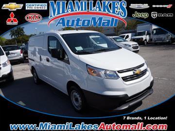 2017 Chevrolet City Express Cargo for sale in Miami, FL