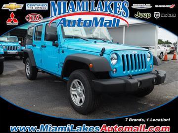 2017 Jeep Wrangler Unlimited for sale in Miami, FL