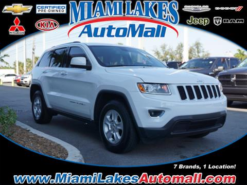 2015 Jeep Grand Cherokee for sale in Miami, FL