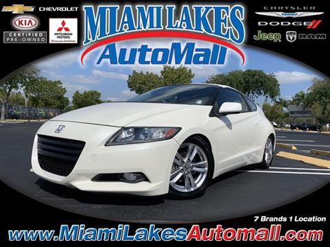 2012 Honda CR-Z for sale in Miami, FL