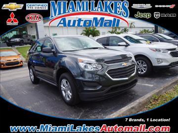 2017 Chevrolet Equinox for sale in Miami, FL