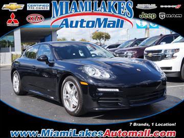 2015 porsche panamera for sale in miami fl - 2015 Porsche Panamera Black