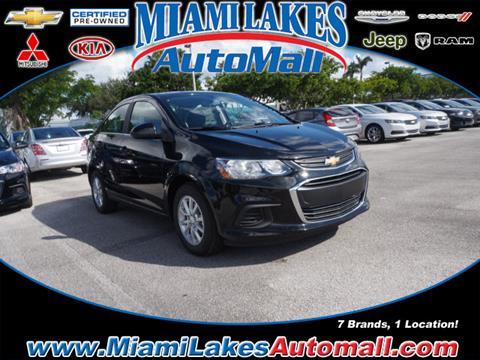 2018 Chevrolet Sonic for sale in Miami, FL
