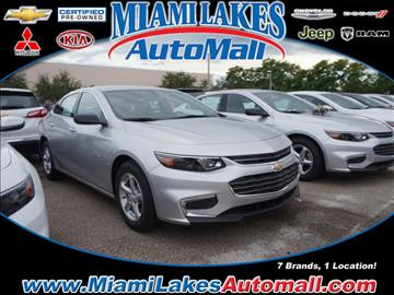 2017 Chevrolet Malibu for sale in Miami, FL