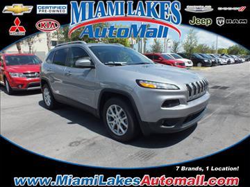 2017 Jeep Cherokee for sale in Miami, FL