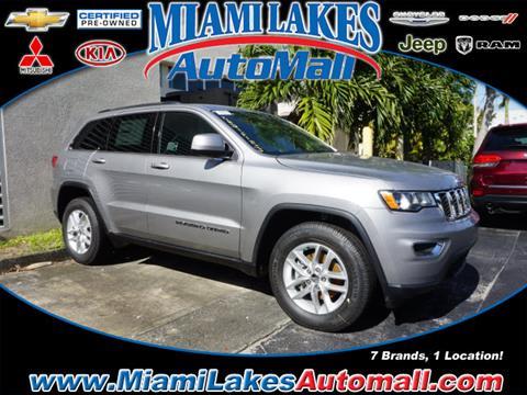 2018 Jeep Grand Cherokee for sale in Miami, FL