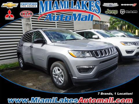 2017 Jeep Compass for sale in Miami, FL