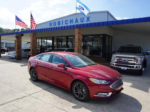2018 Ford Fusion for sale in Thibodaux, LA