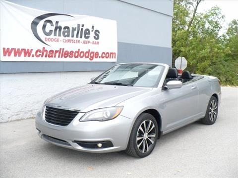 2013 Chrysler 200 Convertible for sale in Maumee OH