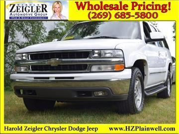 2004 Chevrolet Tahoe for sale in Plainwell, MI