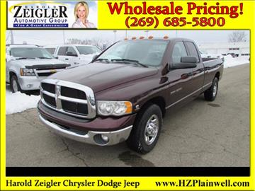 2005 Dodge Ram Pickup 3500 for sale in Plainwell, MI