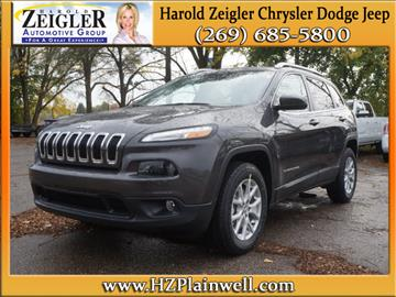 2017 Jeep Cherokee for sale in Plainwell, MI