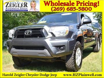 2012 Toyota Tacoma for sale in Plainwell, MI