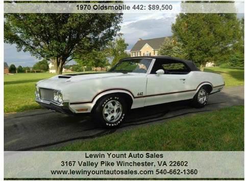 1970 Oldsmobile 442 for sale in Winchester, VA