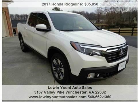 Lewin yount auto sales used cars winchester va dealer for Honda dealer winchester va
