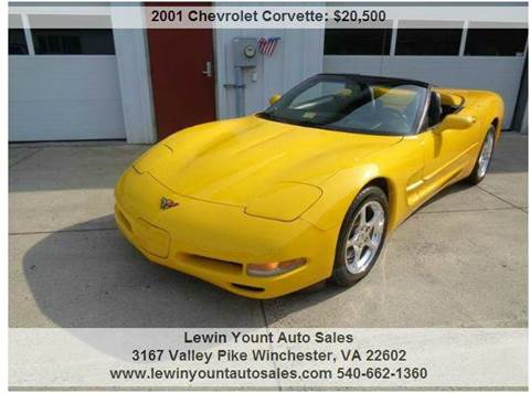 chevrolet corvette for sale winchester va. Black Bedroom Furniture Sets. Home Design Ideas