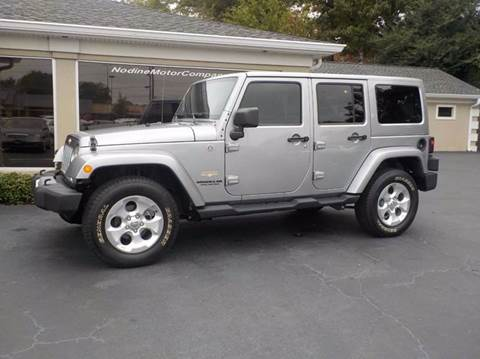 2013 Jeep Wrangler Unlimited for sale in Inman, SC