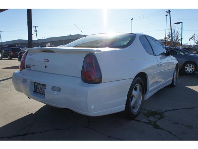 2002 Chevrolet Monte Carlo SS 2dr Coupe - Tulsa OK
