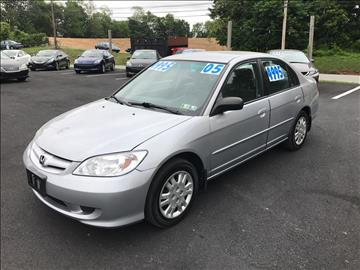 2005 Honda Civic for sale in Dillsburg, PA
