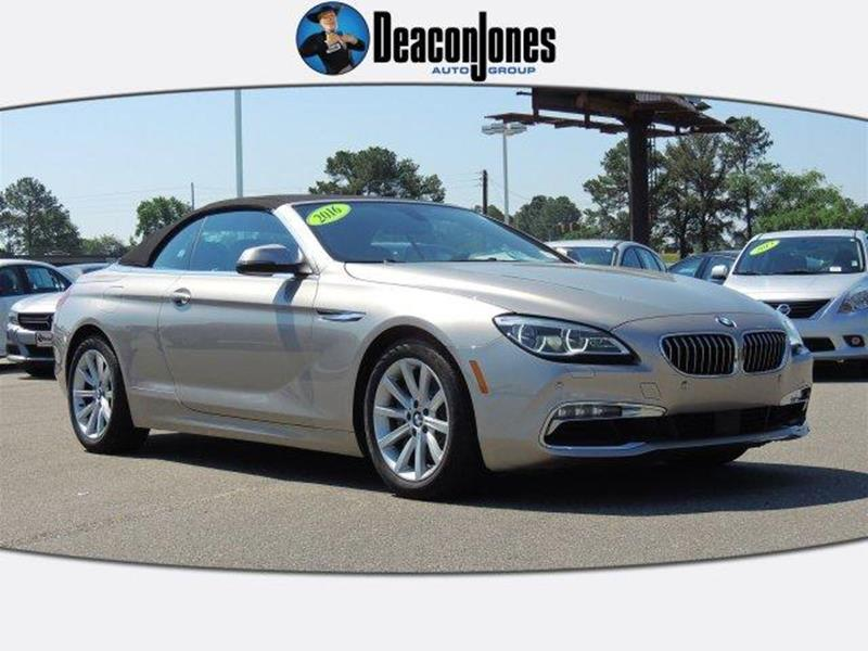 Bmw 6 series for sale in north carolina for Cosmo motors hickory north carolina