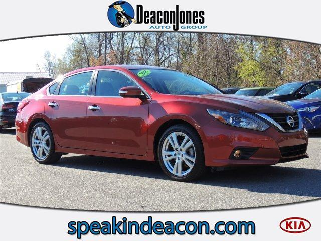 2016 Nissan Altima 3 5 Sl In Goldsboro Nc Deacon Jones Kia
