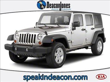 2010 Jeep Wrangler Unlimited for sale in Goldsboro, NC