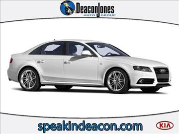 Deacon Jones Goldsboro Nc >> 2009 Audi A4 For Sale - Carsforsale.com