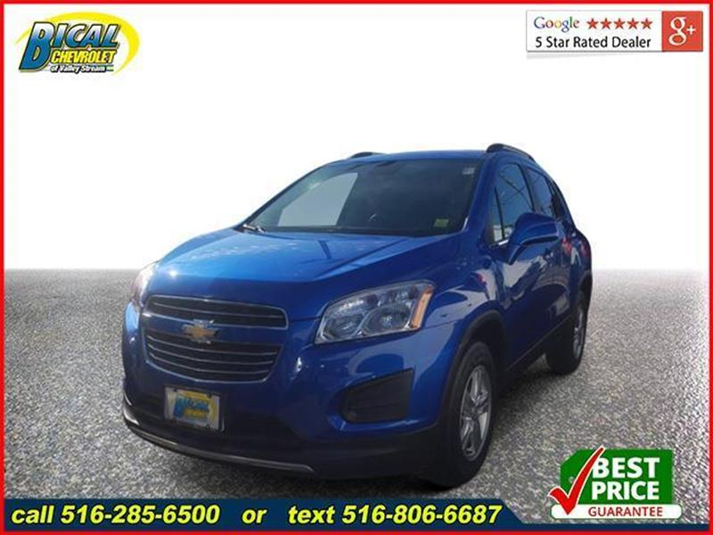 2016 Chevrolet Trax Awd Lt 4dr Crossover In Valley Stream Ny Bical