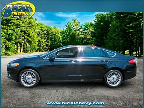 2014 Ford Fusion for sale in Valley Stream, NY
